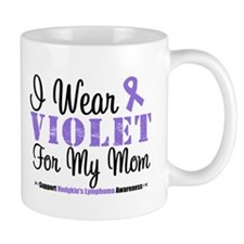 I Wear Violet For My Mom Mug
