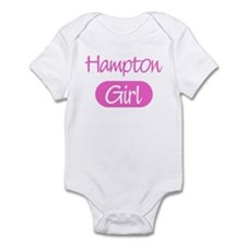 Hampton girl Infant Bodysuit