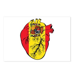 Heart Spain Postcards (Package of 8)