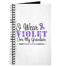 I Wear Violet For My Grandson Journal