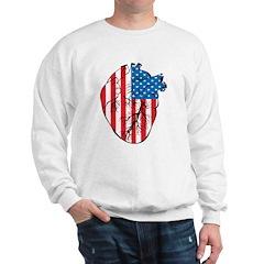 Heart USA Sweatshirt