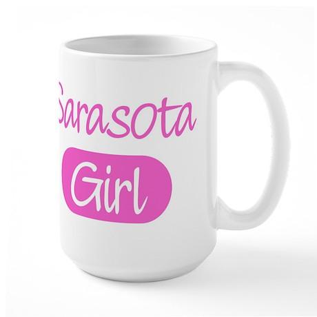 Sarasota girl Large Mug