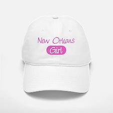 New Orleans girl Baseball Baseball Cap
