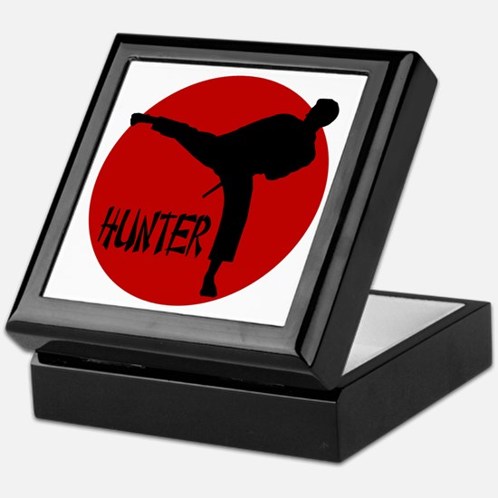 -Hunter Karate Keepsake Box