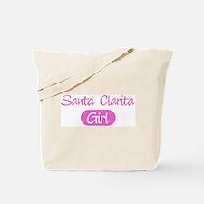 Santa Clarita girl Tote Bag