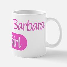 Santa Barbara girl Mug