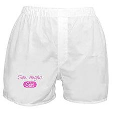 San Angelo girl Boxer Shorts