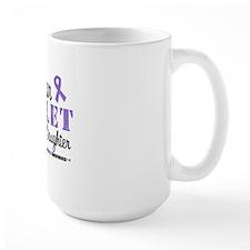 I Wear Violet Ribbon Daughter Mug