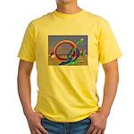 Fantasy Beach Yellow T-Shirt