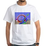 Fantasy Beach White T-Shirt