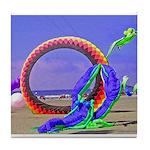 Fantasy Beach Tile Coaster