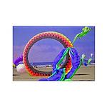 Fantasy Beach Rectangle Magnet (100 pack)