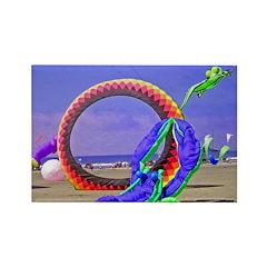 Fantasy Beach Rectangle Magnet (10 pack)