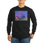 Fantasy Beach Long Sleeve Dark T-Shirt