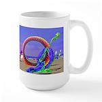 Fantasy Beach Large Mug