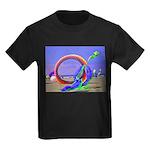 Fantasy Beach Kids Dark T-Shirt