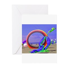 Fantasy Beach Greeting Cards (Pk of 10)