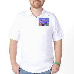 Fantasy Beach Golf Shirt