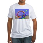 Fantasy Beach Fitted T-Shirt