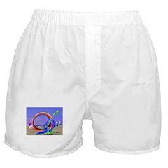 Fantasy Beach Boxer Shorts