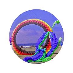 """Fantasy Beach 3.5"""" Button (100 pack)"""