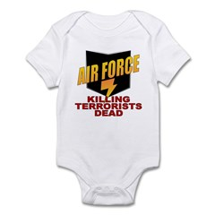 USAF Killing Terrorists Infant Creeper