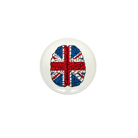 Brain Britain Mini Button (10 pack)