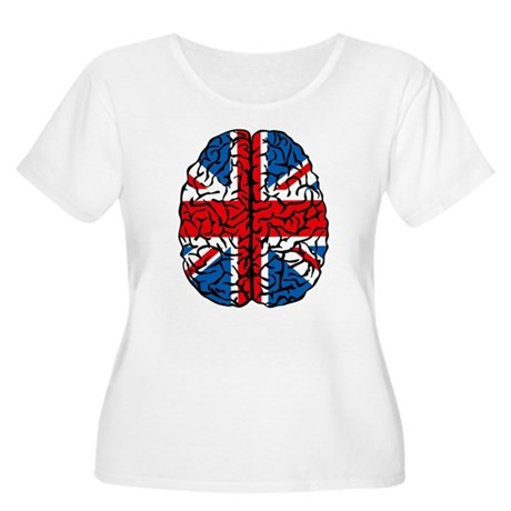 Brain Britain Women's Plus Size Scoop Neck T-Shirt