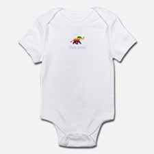 Think, period. Infant Bodysuit