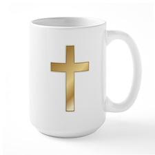 Truest Gold Cross Mug