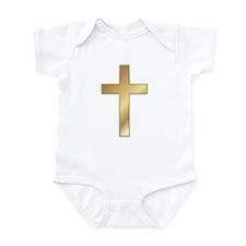 Truest Gold Cross Infant Bodysuit