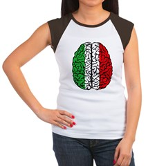 Brain Italy Women's Cap Sleeve T-Shirt