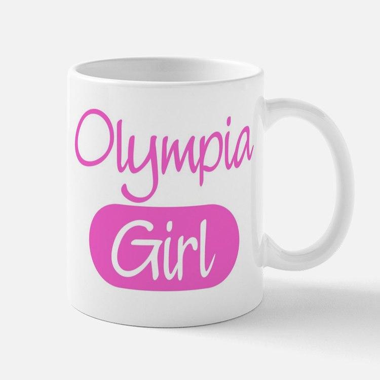 Olympia girl Mug
