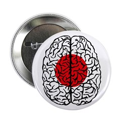 "Brain Japan 2.25"" Button (10 pack)"