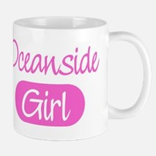 Oceanside girl Mug