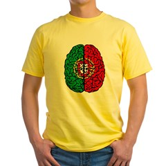 Brain Portugal Yellow T-Shirt