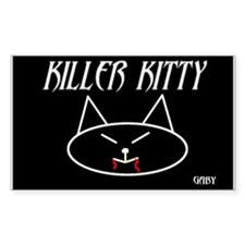 KILLER KITTY STICKER