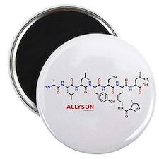 Allyson name molecule Magnet