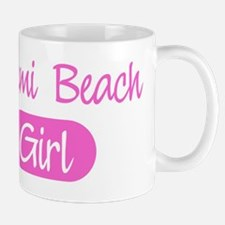 Miami Beach girl Mug