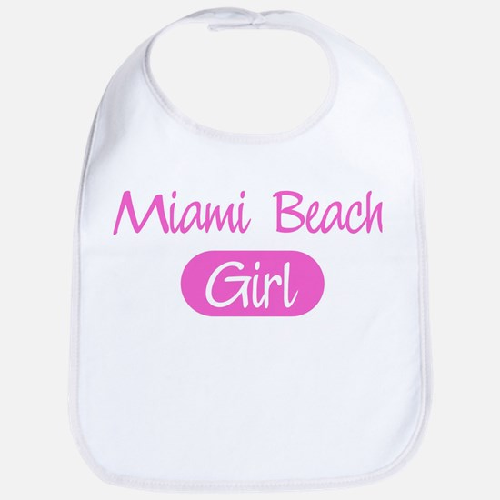 Miami Beach girl Bib