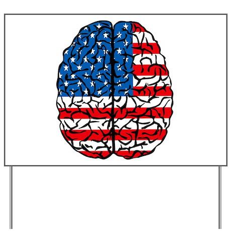 Brain USA Yard Sign