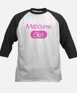 Melbourne girl Kids Baseball Jersey