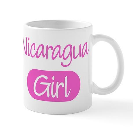 Nicaragua girl Mug