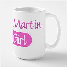St Martin girl Large Mug
