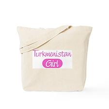 Turkmenistan girl Tote Bag