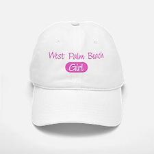 West Palm Beach girl Baseball Baseball Cap