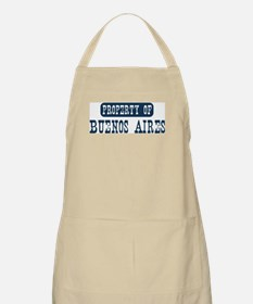 Property of Buenos Aires BBQ Apron