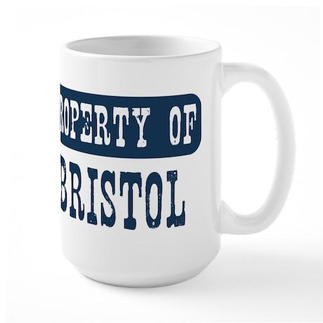 Property of Bristol Large Mug