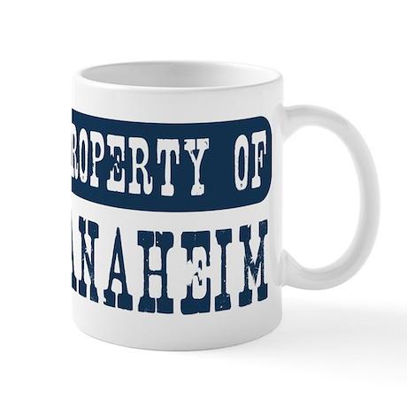 Property of Anaheim Mug