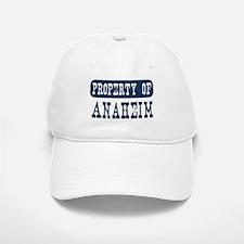 Property of Anaheim Baseball Baseball Cap